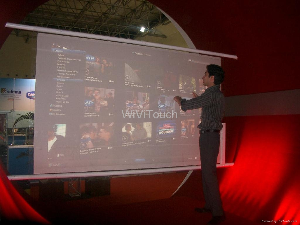 Multi Touch Window Foil Film 32'' to 180'' 5