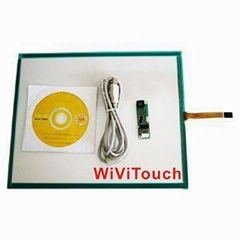 19'' widescreen 4wire touch screen