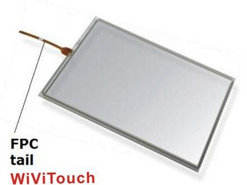 15.4'' 4wire touch screen 2