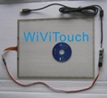 15'' widescreen 4wire touch screen