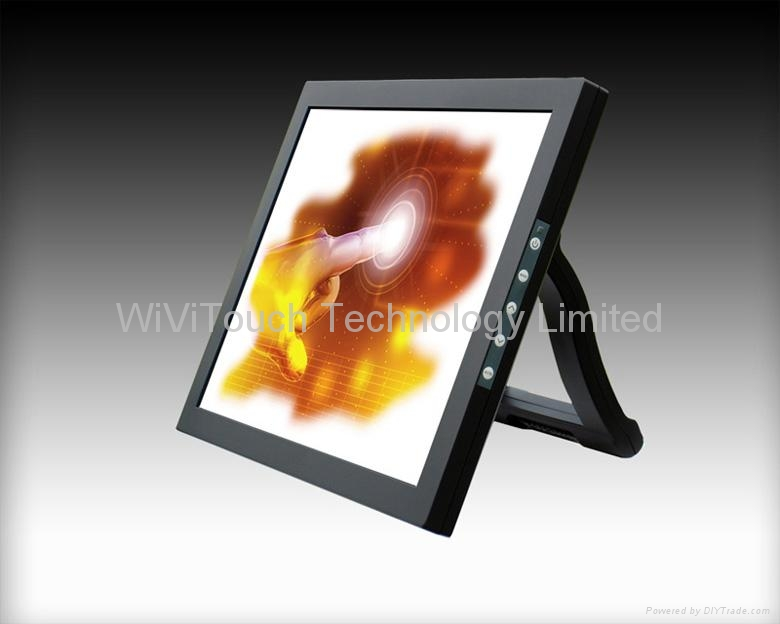 15'',17'' SAW Desktop Touch Monitor 1