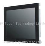 19''聲波寬屏觸摸屏防塵開放式顯示器