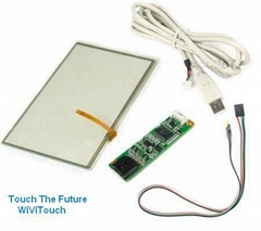 7.3'' 4wire touch screen