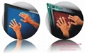 WiViTouch Multitouch(32 touch points) Screen works with windows7 system