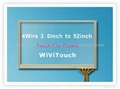 23'' 4wire touch screen