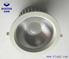 The single 130W anti glare LED downlight