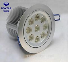 圓形9×3W可調向LED珠寶燈