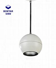 Round led pendant lamp