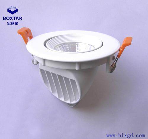 單顆10W超高亮LED象鼻燈 2