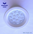 Round 15 x 3WLED ceiling lamp