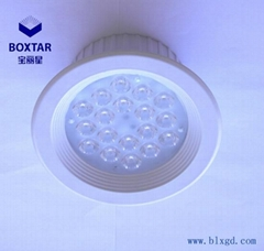 Recessed LED spotlight