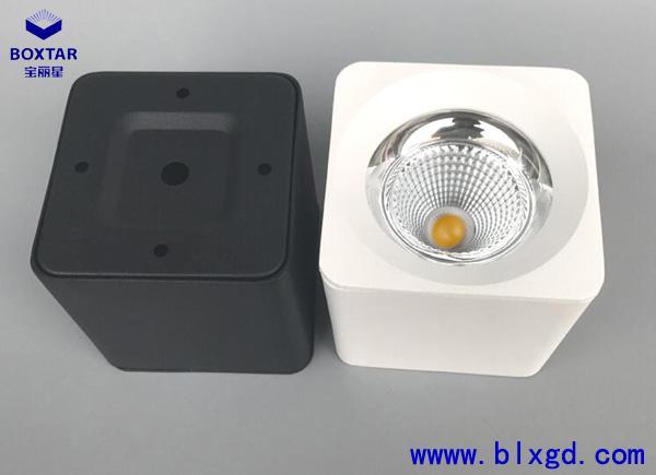 方形LED明裝筒燈 1