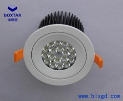 Recessed LED spotlight