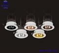 开孔Ф80mm单颗20W LED珠宝射灯、LED珠宝洗墙灯 3