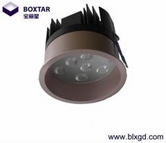 Deep anti-glare LED jewelry light