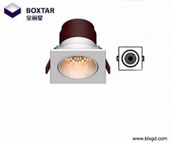 方形LED珠寶射燈