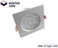 Square LED jewelry lamp