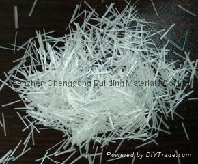 (12mm)預混型耐碱玻璃纖維短切紗 深圳誠功建材(18603058786) 3