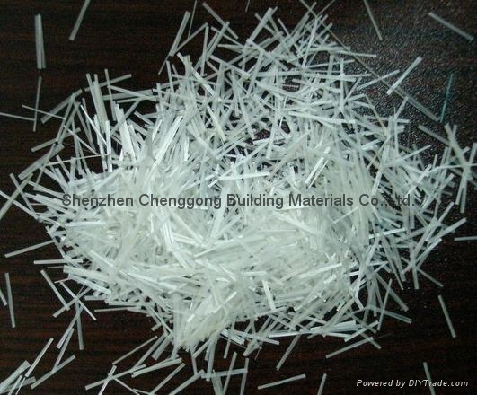 (12mm)预混型耐碱玻璃纤维短切纱 深圳诚功建材(18603058786) 5
