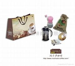 玛卡多咖啡优质动心礼盒