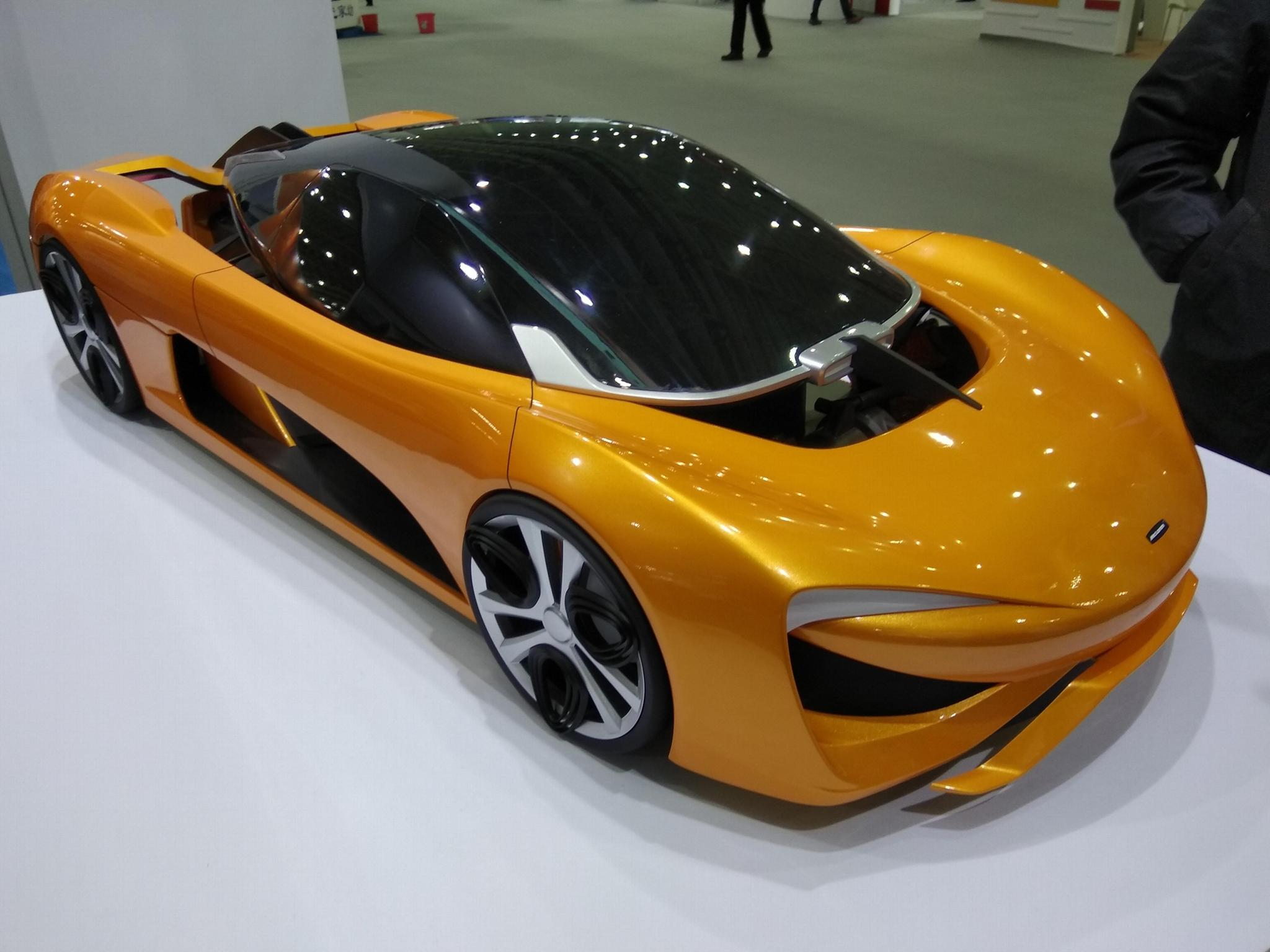 武漢飛機模型汽車模型造型手板快速樣件 3