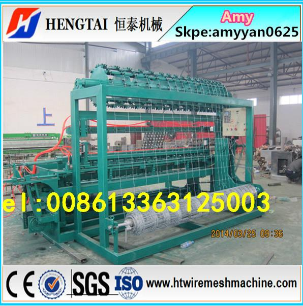Full automatic grassland field fence machine/Cattle fence weaving machine 5
