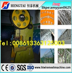 Full Automatic Razor Barbed Wire Making Machine 16 years factory