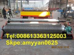 全自動電焊網卷機器 數控鋼觔網排焊機 全自動卷網機器