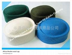 Africa Muslim wool cap