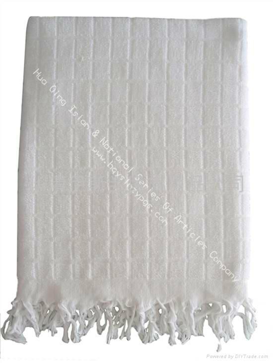 穆斯林朝觐者戒衣Muslim pilgrimage Ihram Towel 5