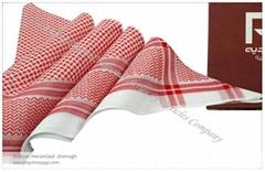 阿拉伯全棉頭巾 Arabian mercerized shemagh