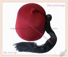 菲斯羊毛帽(Fez wool cap)