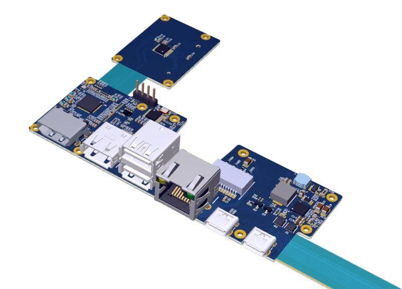 Money Counter PCBA - Printed Circuit Board Assembly - Grande Electronics 1
