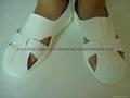 防靜電PU底大四孔皮革鞋 1