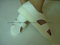 防靜電PU底大四孔皮革鞋 2