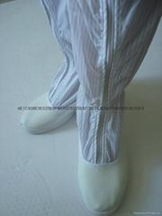 防靜電長筒皮革面靴