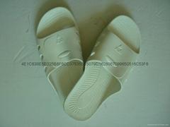 防静电SPU拖鞋白色