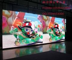 P25LED戶外大型廣告產品發布屏