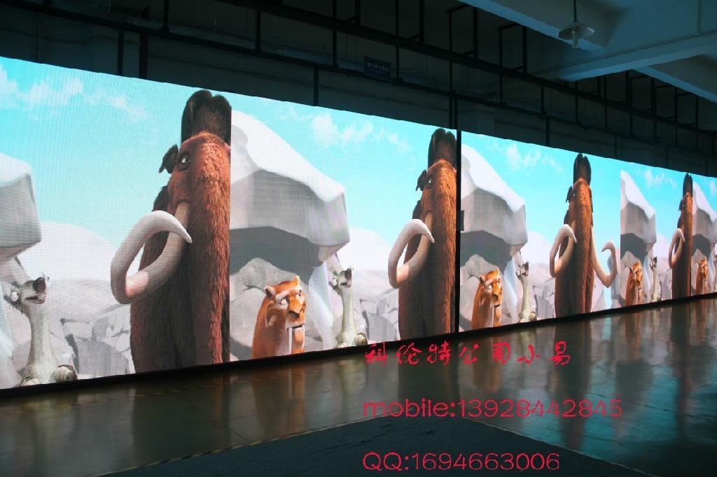 深圳高清P20全彩LED顯示屏 1
