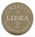 3V锂电池CR2477T纽扣电池 3