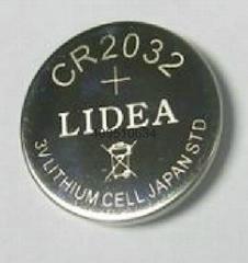 LED闪灯3V锂锰纽扣电池CR2032