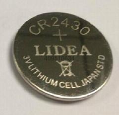 3v锂锰电池CR2430纽扣电池