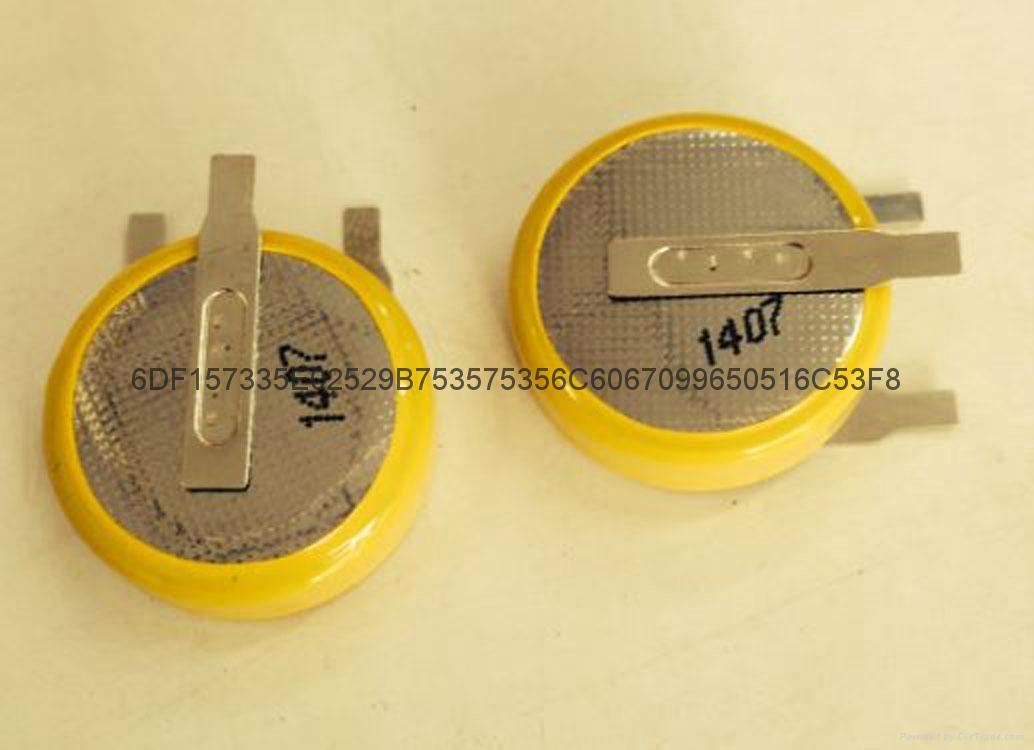 安防控制板3V锂电池CR2477T纽扣电池LITHIUM CELL 1