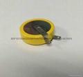 安防控制板3V锂电池CR2477T纽扣电池LITHIUM CELL 3