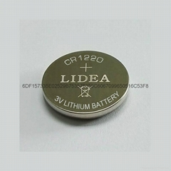 3V LITHIUM BATTERY BUTTON CELL CR1220