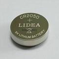 无线蓝牙智能穿戴电池CR2050纽扣电池 2