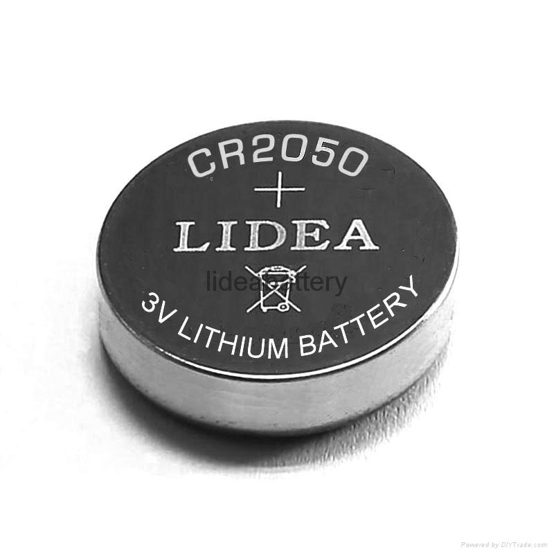 无线蓝牙智能穿戴电池CR2050纽扣电池 3