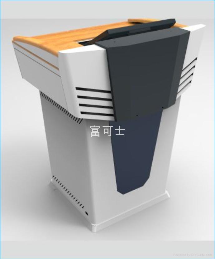 19寸机柜尺寸_富可士多媒体报告讲台演讲桌S900 - 广东省 - 生产商 - 产品目录 ...