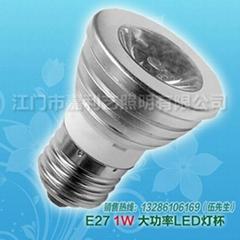 LED大功率射灯E27