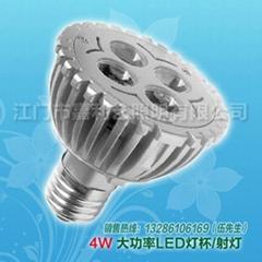 LED大功率射灯4W